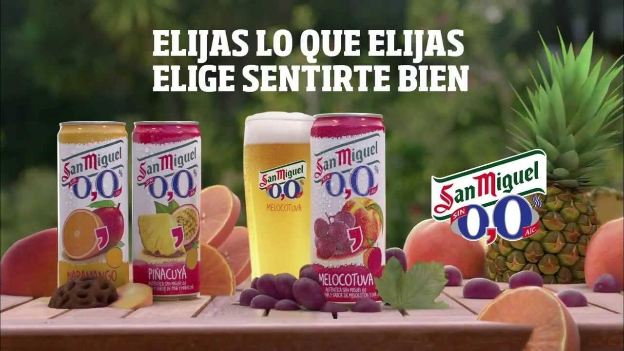 Canción anuncio san miguel 0,0